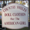 Buy Your Girls' and Dolls' Day Tickets at Country Smiles Doll Shop